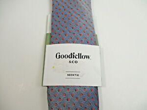 Men's Goodfellow & Co Neck Tie Coral/Navy