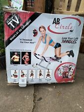 "NIB AB Circle Pro As seen on TV abs ""a Treadmill For Your Abs"""