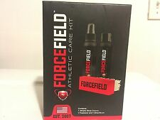 NEW FORCEFIELD ATHLETIC CARE KIT CLEANER FRESHENER BRUSH SUEDE LEATHER 3PC SET