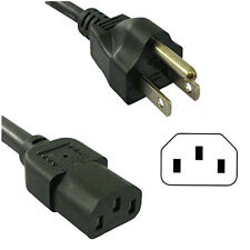 EMERSON, SYLVANIA, 3-Prong POWER CORD LCD TV AC CABLE Flat Screen UL Listed