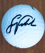 SCOTT VERPLANK Signed  Titleist 3 Golf Ball COA