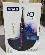 Oral-B iO Series 8 Connected Rechargeable Electric Toothbrush Violet Ametrine