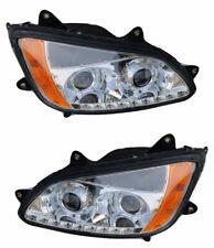 Kenworth T170 T270 T370 T470 T440 T660 T700 LED PROJECTOR HEADLIGHTS Pair 08-16