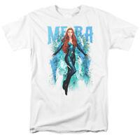 Aquaman Movie Mera DC Comics Officially Licensed Adult T-Shirt