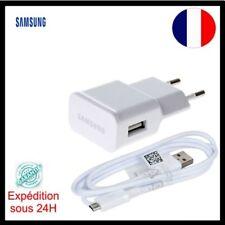 Chargeur Mural USB +Câble micro USB Adaptateur Samsung Original S4/S6 S7, note 5