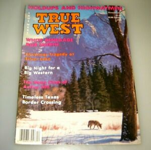 True West Magazine White Renegade Bob North December 1986
