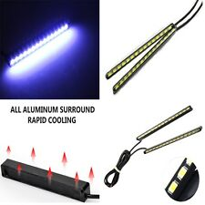 Ultra Slim LED Fog Signal Light Daytime Car Running Lamp Strip DRL Waterproof