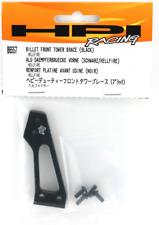 HPI 86557 Black Anodized Billet Front Shock Tower Brace: Hellfire