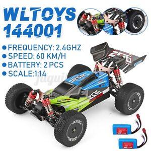 Wltoys XKS 144001 2.4G 1:14 4WD 60km/h RC Ferngesteuertes Off-Road mit 2 Battery