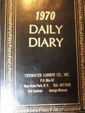 Vintage/unused 1970 datebook/calendar with risque' cartoons