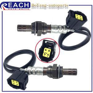 2pcs Up&Downstream Oxygen Sensor For 2007 2008 2009 Dodge Caliber 1.8L 2.0L 2.4L
