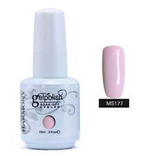 15ml Gelpolish Soak Off Color UV LED Gel Nail Polish Base Top Coat Hot  137~204.