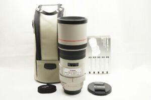 Canon EF 300mm F4L IS USM AF Telephoto Lens for EOS EF Mount w/ Case #210822g