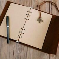 80Sheets Notebook Refill Inner A5 A6 A7 Paper Pages Vintage Retro Craft Paper CH