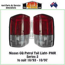 TAIL LIGHTS fit NISSAN GQ Y60 PATROL SERIES 2 - PAIR REVERSE BRAKE NEW
