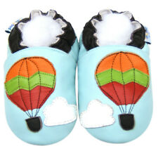 Soft Sole Leather Baby Shoes Infant Toddler Kid Child Boy Hotballoon Blue 18-24M
