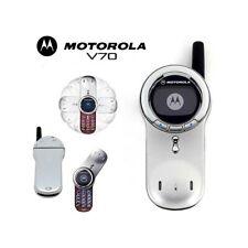 TELEFONO CELLULARE MOTOROLA V70 GSM ILLUMINATO ROSSO 2G 2002 MONOCROMO-