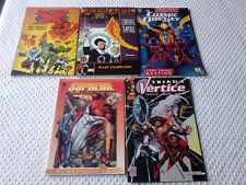Lote   5 comics ( Universo x - Odisea cosmica - Supreme y otros )