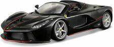Bburago LaFerrari Aperta schwarz (Maßstab 1:24) Ferrari Auto Modellauto Modell