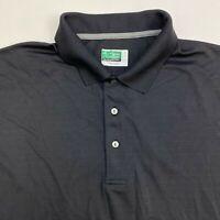 Ben Hogan Performance Polo Shirt Men's Size 2XL XXL Short Sleeve Black Power Air