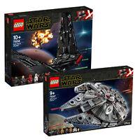 LEGO Star Wars Millennium Falcon & Kylo Ren's Shuttle Twin Pack 75256 & 75257