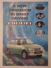 PERODUA NIPPA orig 1999 UK Mkt Sales Leaflet Brochure