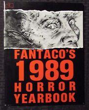 1989 FANTACO'S Horror Yearbook FVF 7.0 Alan Moore / Fangoria / Dead World