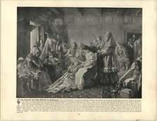Makowsky, Constantin ~ viejo ilustraciones ~ el inodoro de la novia