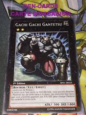 OCCASION Carte Yu Gi Oh GACHI GACHI GANTETSU BP01-FR025 1ère édition