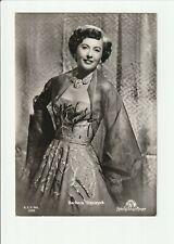 BARBARA STANWYCK 1950s Photo Postcard