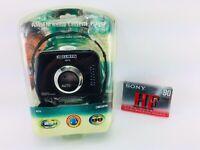 Vintage Curtis AM/FM Radio Cassette Player RS-75 w/Lightweight Headphones & Tape