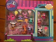 Littlest Pet Shop SUNDAE SPARKLE COLLECTION 10 PETS (3 SPARKLE)  3390-3399