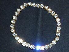 Crystal Bracelet Vintage Costume Jewellery (Unknown Period)