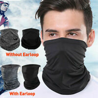 Cooling Neck Gaiter Bandana Headband Face Scarf Head Cover Snood Scarves&
