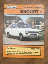 Ford Escort 1 1968-1975 Owners Car Workshop Motor Manual From Autodata