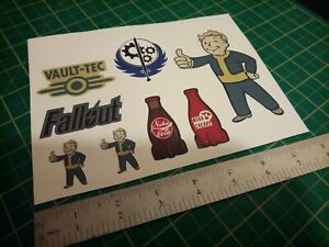 Fallout pipboy nuka cola vault tec Stickers