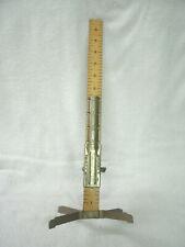 "Vtg David Traum 20"" Wood  Ruler *DRESS-SKIRT MARKER* Sewing Sew Measure Tool"