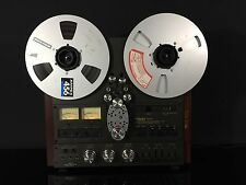 Beautiful Technics 2 Track RS-1500US Reel to Reel Studer Ampex