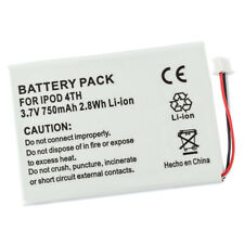 Battery for Apple iPod 4th Generation 4 Gen Photo Color 616-0206 MP102 A5CAW New