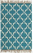 Natural Fibres Geometric Rugs