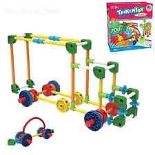 Tinkertoy Building Set, Kids Toys 30 Model 200 Piece Super Tinker Toy - New