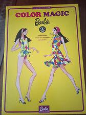 Color Magic Barbie Limited Edition 1966 VTG. PJ Repro Raven Hair