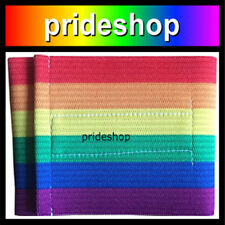 Rainbow Large Sports Team Arm Band With Security Strap Lesbian Gay Pride #1172