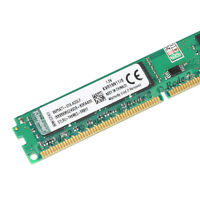 100% nuevo 8GB PC3-12800U DDR3 1600MHz CL11 240Pin DIMM SDRAM KVR16N11/8SP