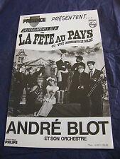 Partition La fête au pays ou Vive monsieur le Maire André Blot Instruments Si b