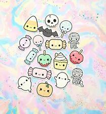 Paquete De 40 papel Kawaii Halloween Pegatinas de caramelo