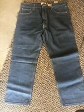 Levis 501 Denim Jeans Made in USA 501 W38 L30 Color blue