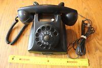 Vintage Ericsson Ruen PTT Western Antique Telephone supply Rotary Black Bakelite