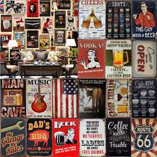 Vintage/Retro Metal Tin Sign Plate Poster Plaque Bar Pub Cafe Club  Wall Decor
