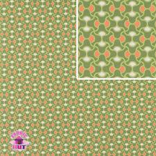 Amy Butler August Fields Knot Garden Moss Cotton Fabric by the Yard